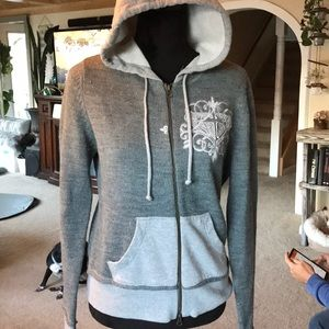Roxy knit full zip hoodie